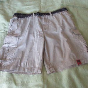 Foundry Belted Cargo Shorts Size 44 100% Cotton